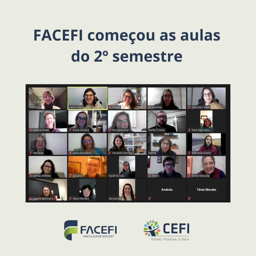 FACEFI começa as aulas do 2º semestre